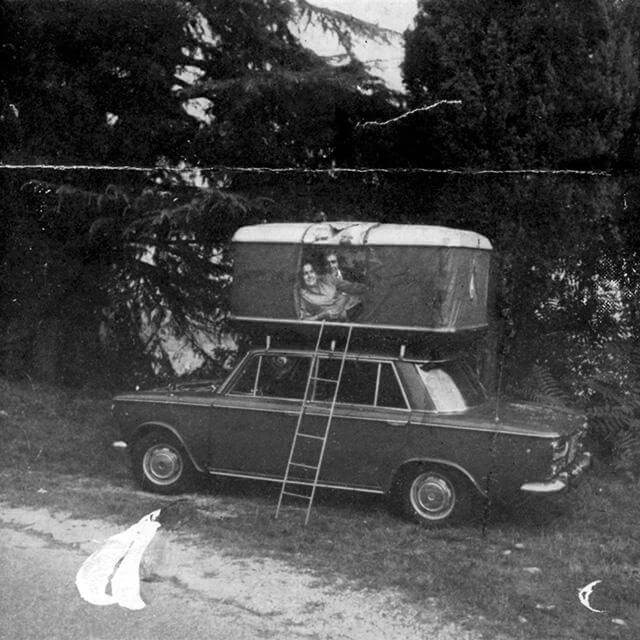 Roof Top Tents by Autohome Dachzelt - Vintage photo