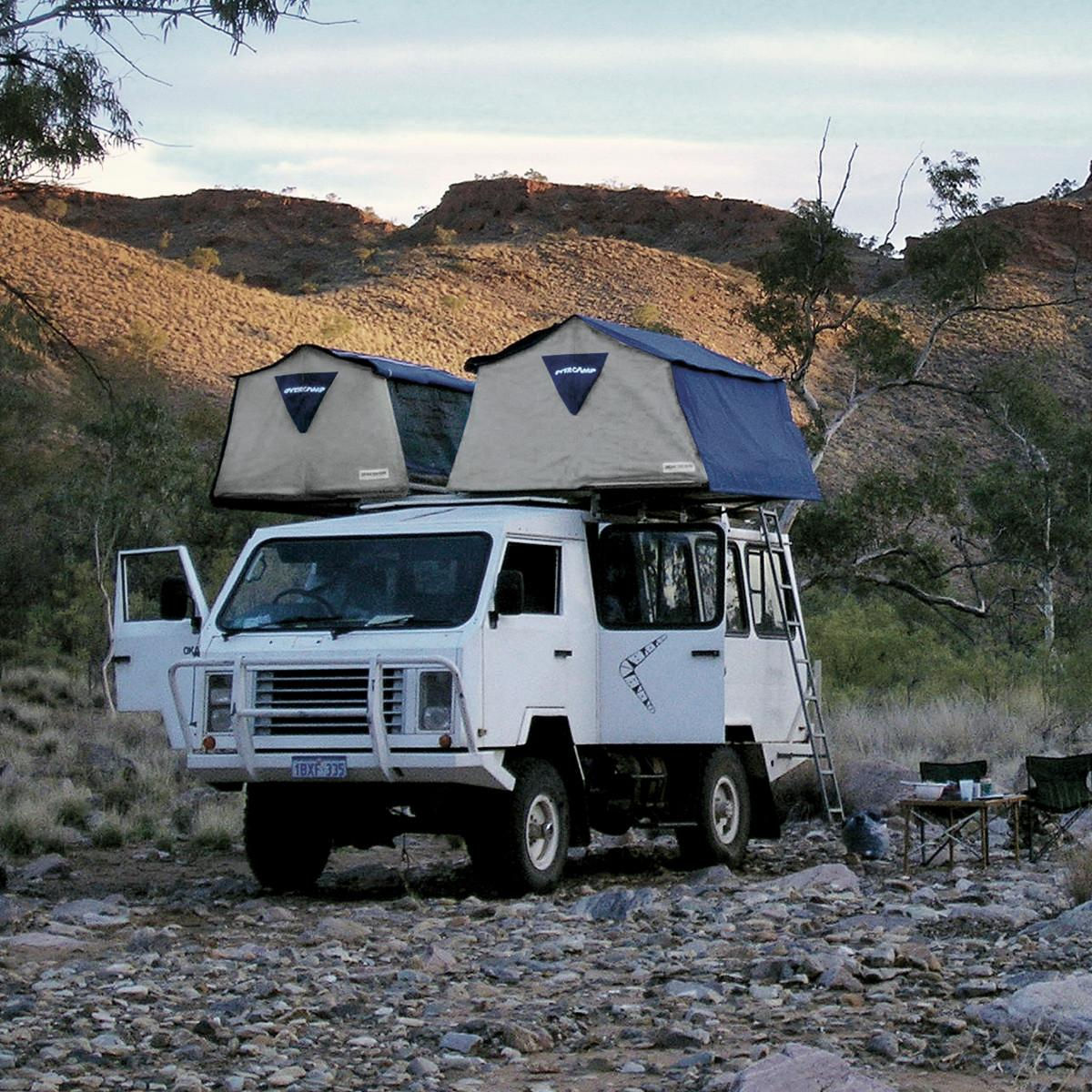 OVERCAMP & World Leader Roof Tents for vehicles