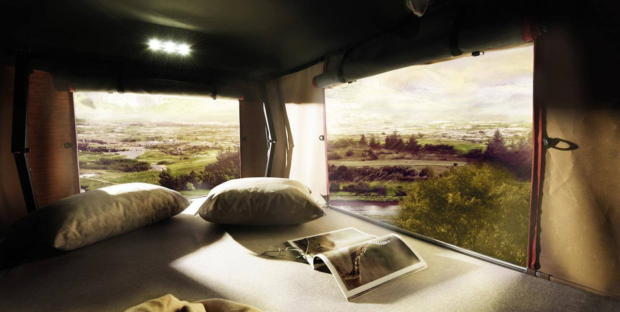 Autohome Dachzelt - Roof Top Tents interior