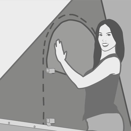 Autohome Dachzelt - Columbus Roof Top Tents measures