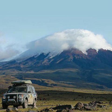 Roof Top Tents by Autohome Dachzelt - Cotopaxi volcano