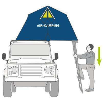 The Air-Camping Roof Top Tent