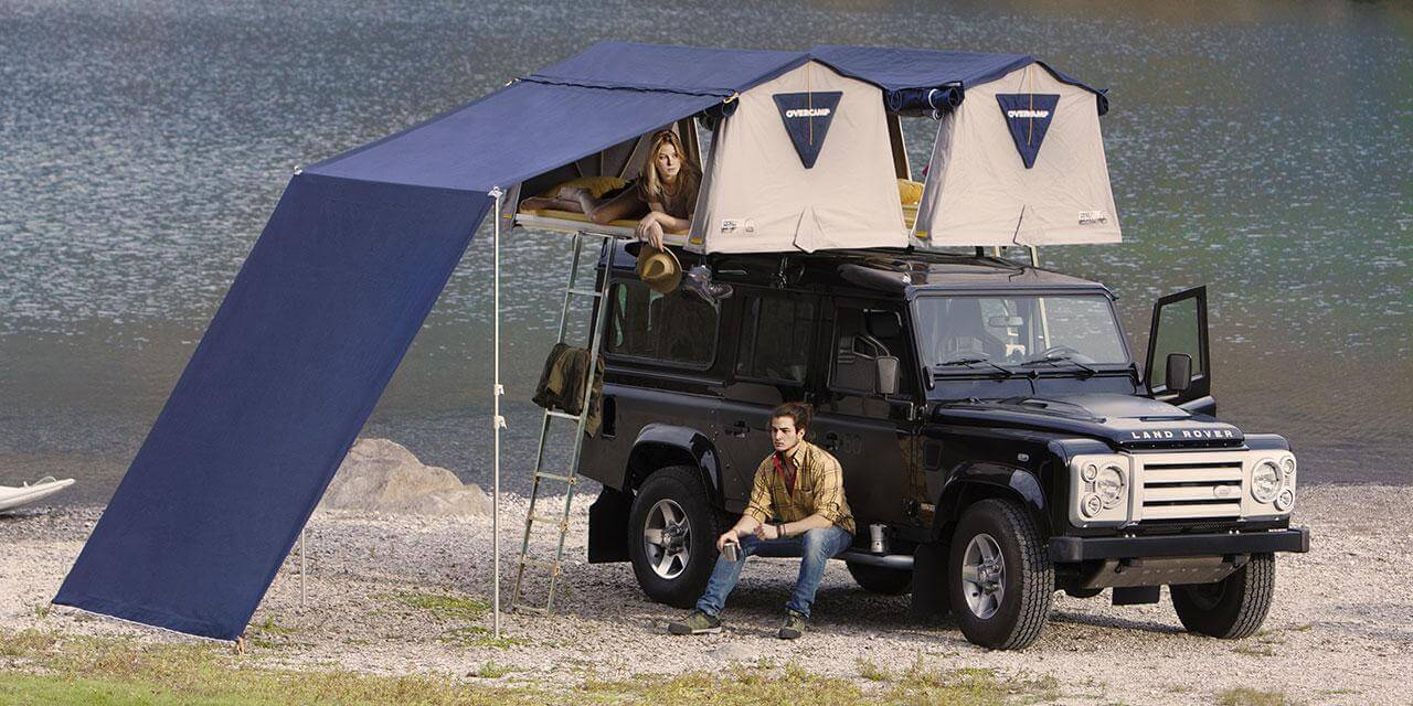 Autohome Dachzelt - Overcamp Roof Top Tents measures