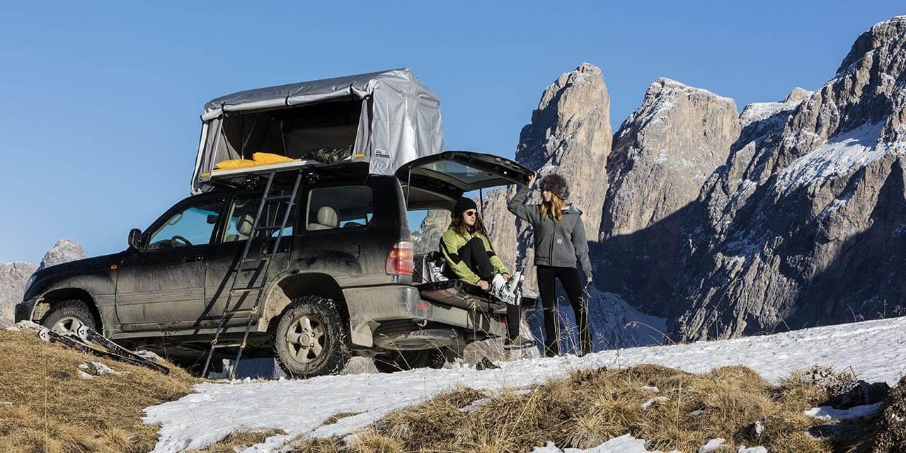Autohome Dachzelt - Roof Top Tents Dolomites