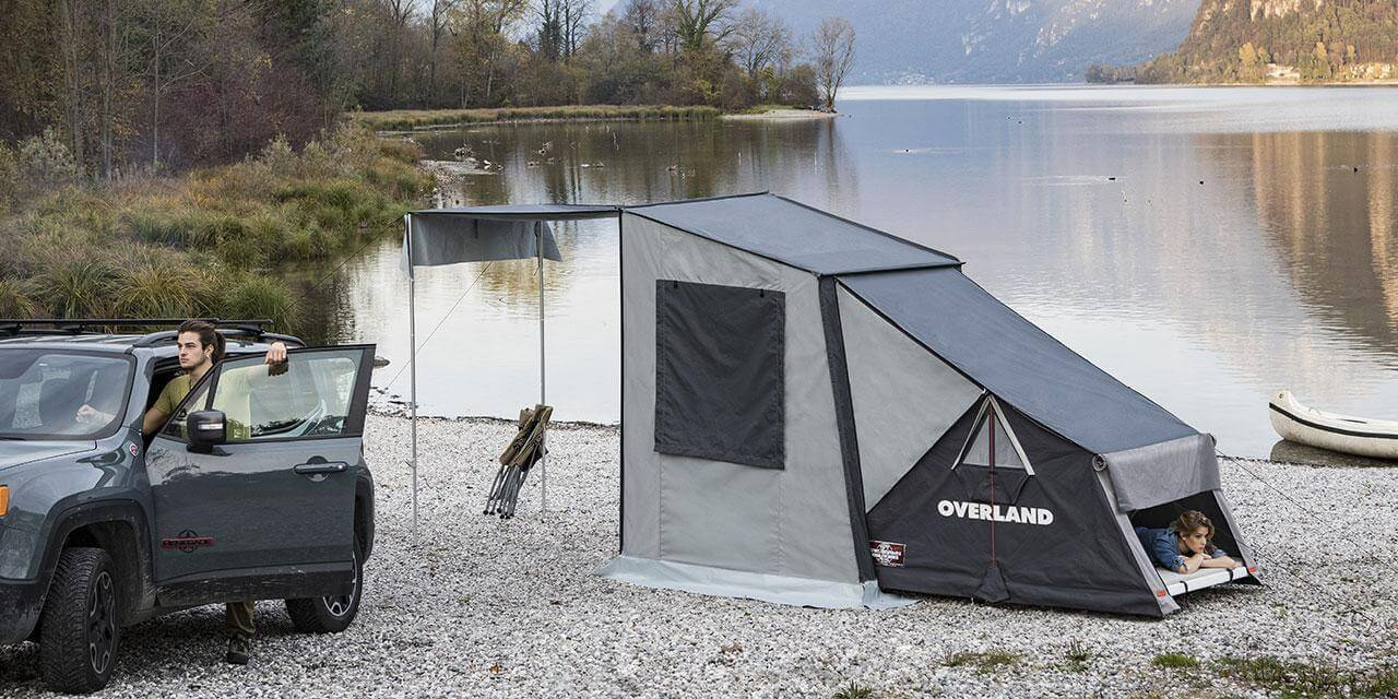 Should the standing time be longer the tent becomes a well-structured comfortable and safe module (art OL/06A) to go c&ing in a traditional way; ... & The Overland Roof Tent