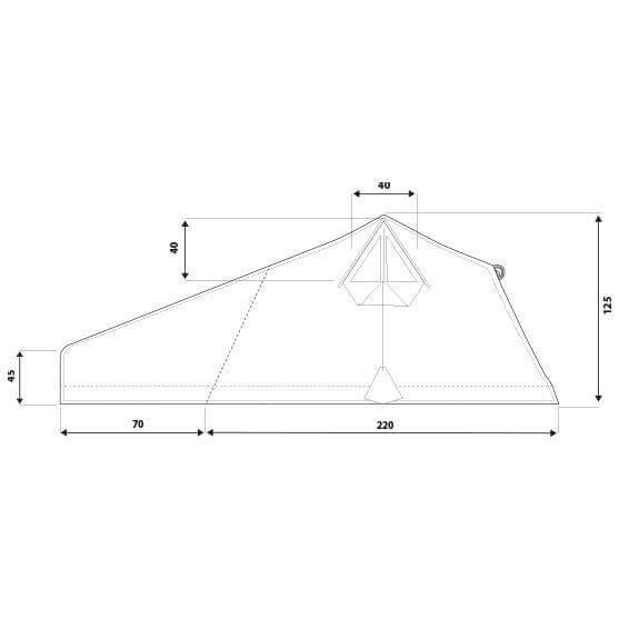 Autohome Dachzelt - Roof Top Tents measures