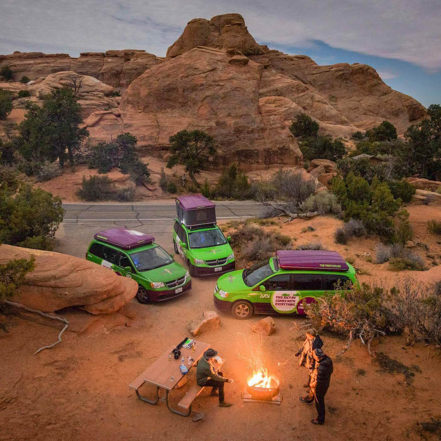 Roof Top Tents by Autohome Dachzelt - canyon Camping
