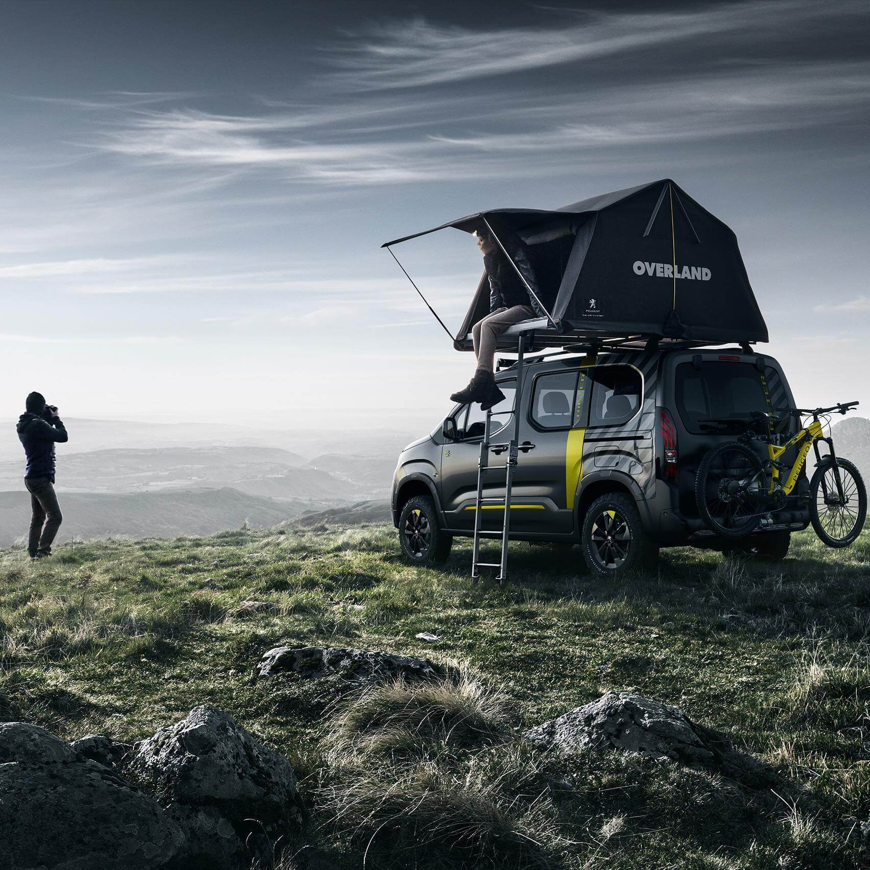 Roof Top Tents by Autohome Dachzelt - Overland Peugeot
