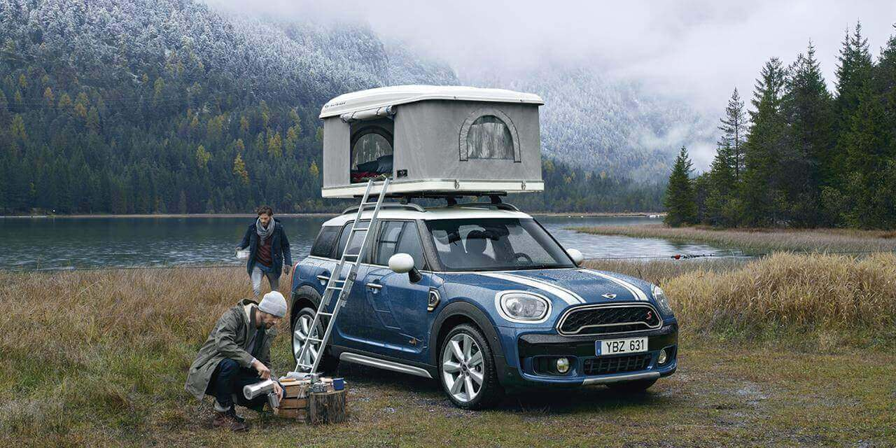 Autohome Roof Top Tent on Mini countryman | Autohome Dachzelt mini countryman