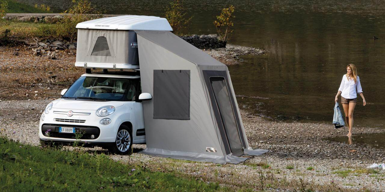 Maggiolina Lake Fiat 500 - Roof Top Tents by Autohome