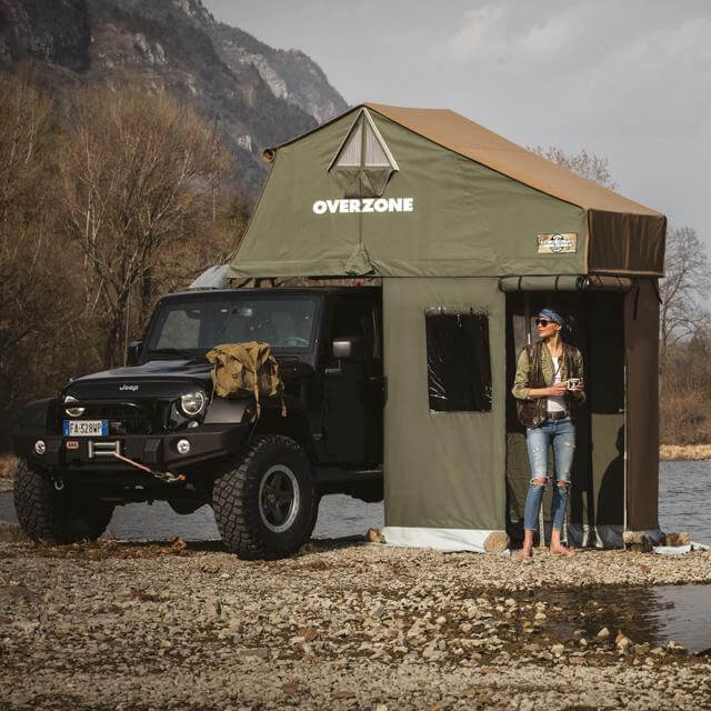 Roof Top Tents by Autohome Dachzelt - Beach camping