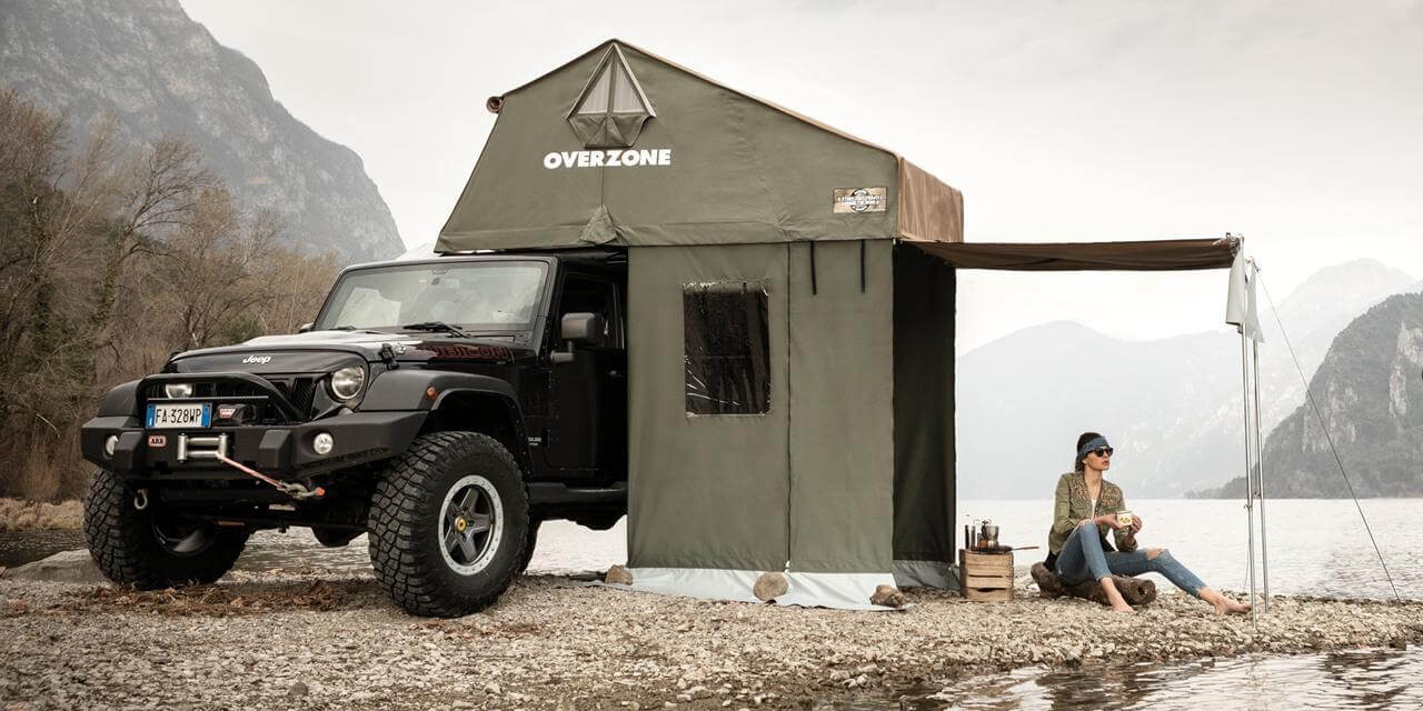 Overzone Lake - Roof Top Tents by Autohome