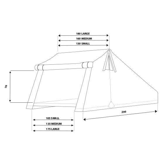 Overzone Measures - Roof Top Tents by Autohome