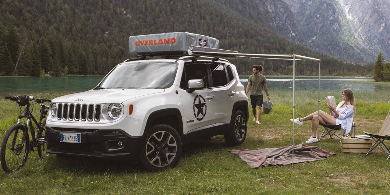 Jeep Renegade Overland - Roof Top Tents by Autohome