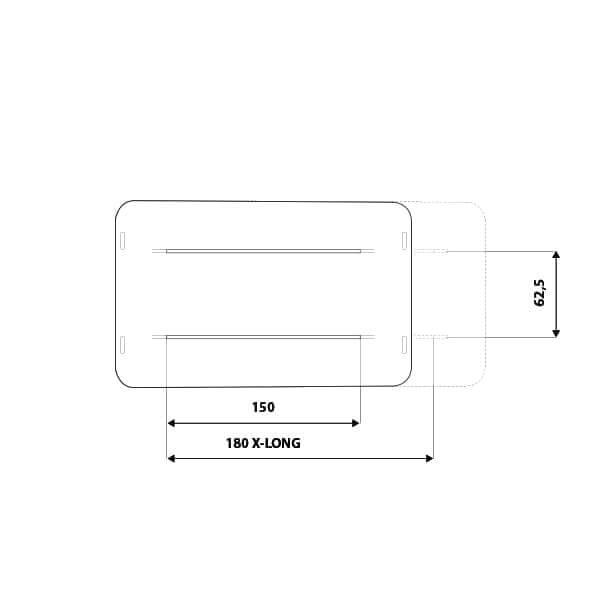 Airlander Plus Measures Details - Autohome Roof Top Tents