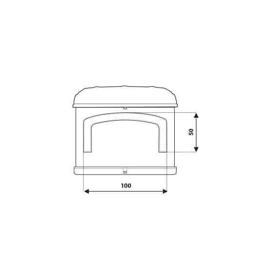 Airtop 360 Measures Details - Autohome Roof Top Tents
