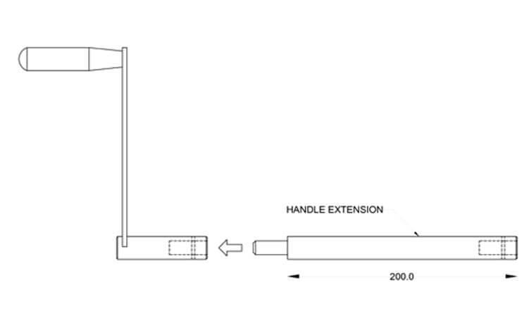 Crank Details - Autohome Roof Top Tents