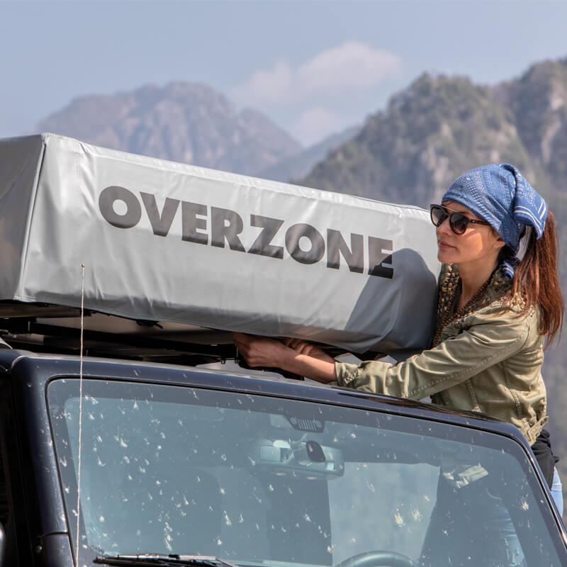 Autohome Dachzelt - Overzone Roof Top Tents positions