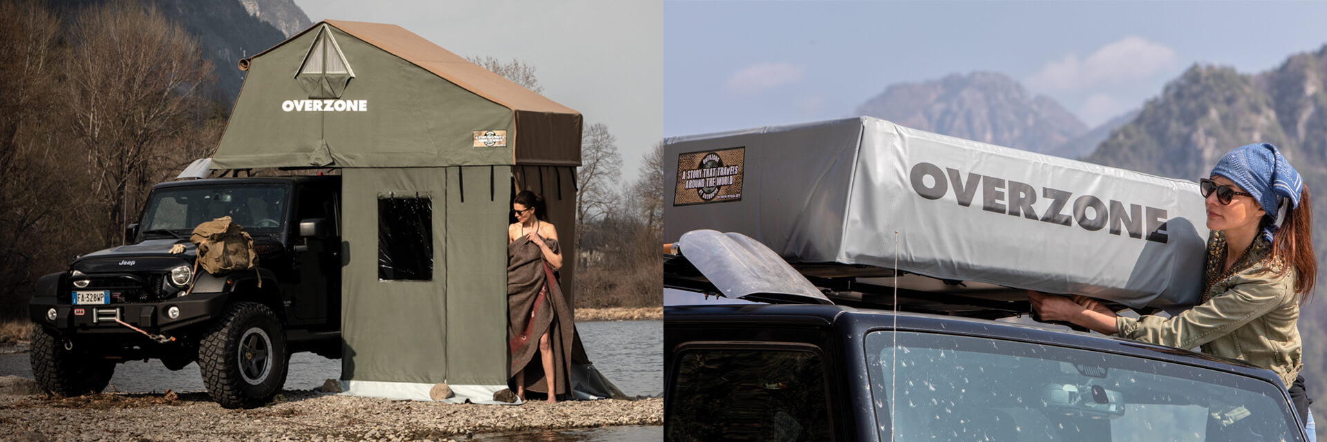 Overzone Roof Top Tents by Autohome