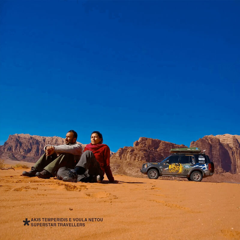 Roof top tents for desert by Autohome
