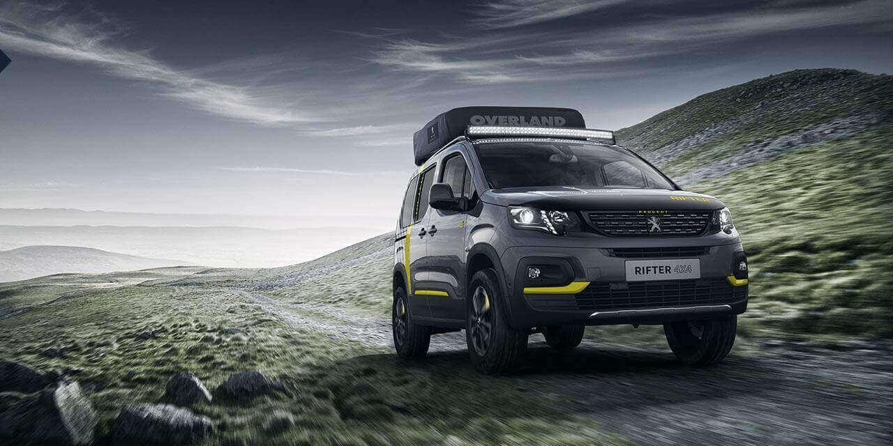 Autohome Dachzelt - Roof Top Tents Peugeot partnership