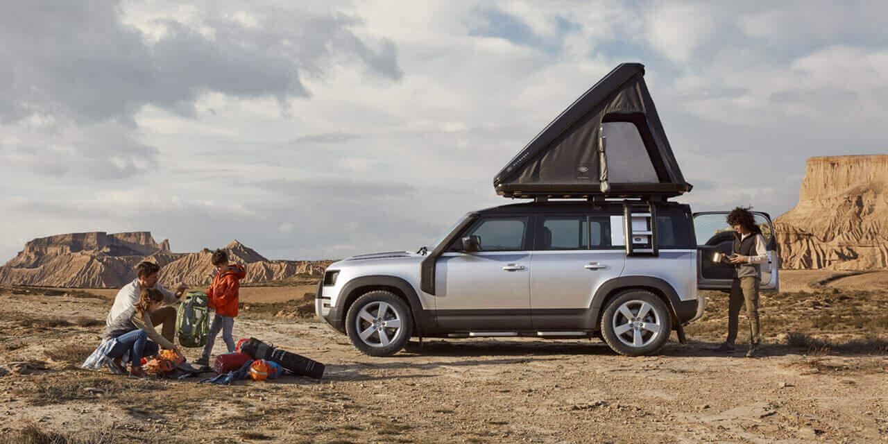 Land Rover collab Dachzelt Autohome