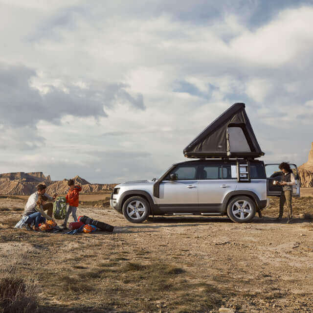 Land Rover and Autohome - Roof Top Tent