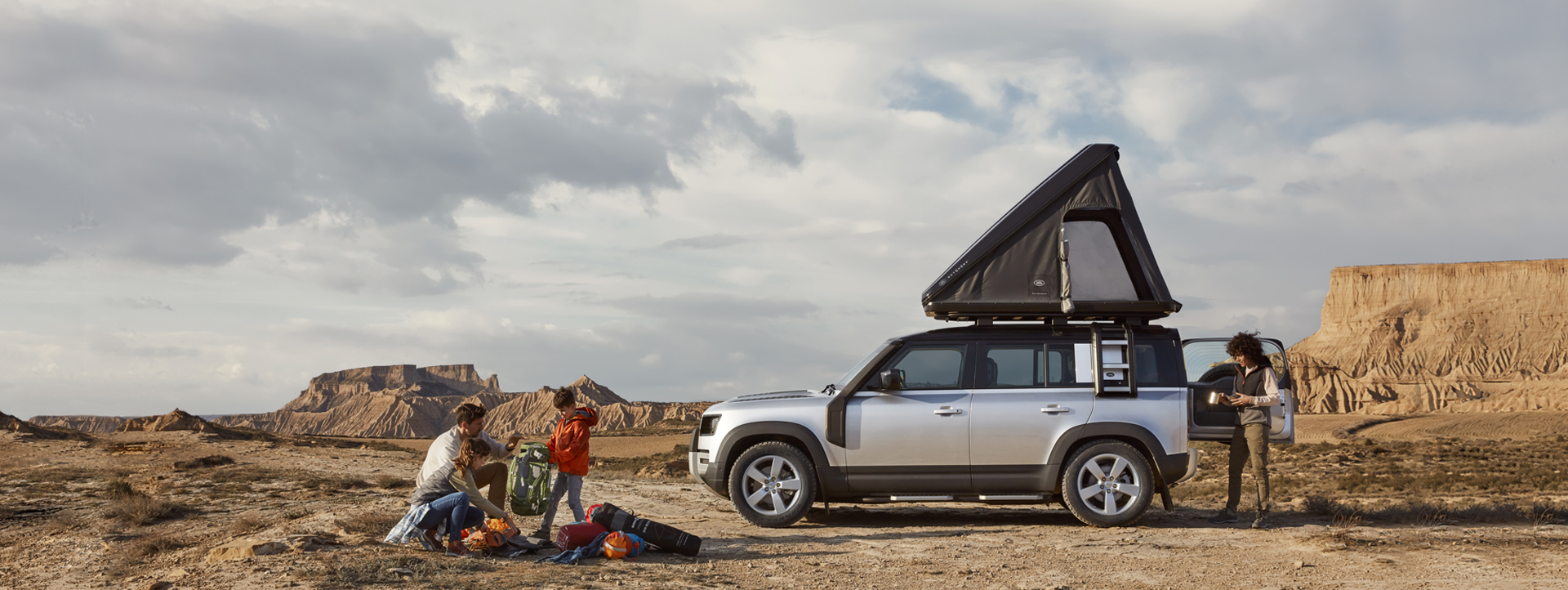 tenda da tetto autohome land rover